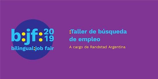 B:jf:: Taller de búsqueda de empleo, Randstad Argentina.