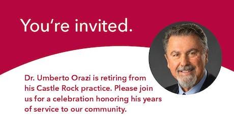 Dr. Orazi's Retirement Reception tickets