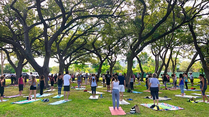 Community Yoga at Legion Park image