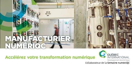 Manufacturier numériQC billets