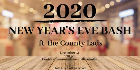 2020 New Year's Bash ft. The County Lads billets