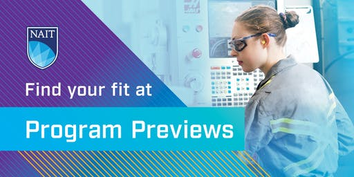 NAIT Program Preview - School of Skilled Trades