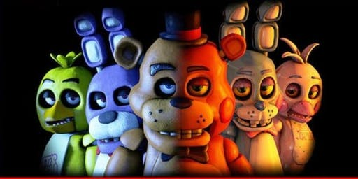 Confetti Paints: Five Nights at Freddy's