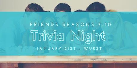 Friends Seasons 7-10  tickets
