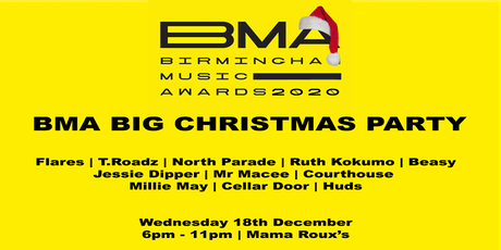 THE BMA BIG CHRISTMAS PARTY tickets
