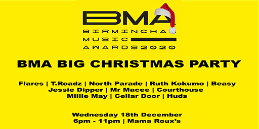THE BMA BIG CHRISTMAS PARTY