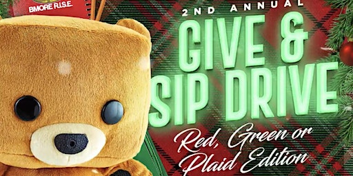 Give & Sip: Red, Green or Plaid Edition