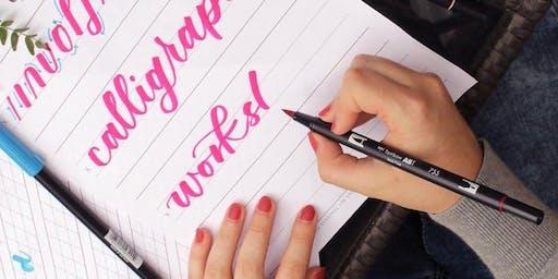 WORKSHOP: Modern Calligraphy for Beginners