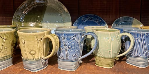 Unusual Surfaces and Handbuilding Workshop with Christy Knox: Apr 25 10a-5p