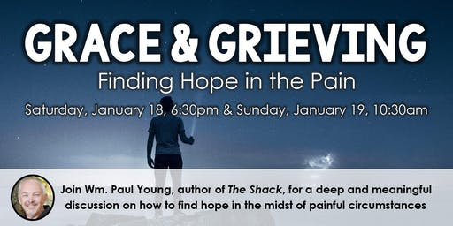 Grace & Grieving - Finding Hope in the Pain - LIVESTREAM!!