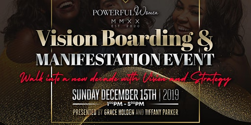 Powerful Women MMXX Vision Board Event