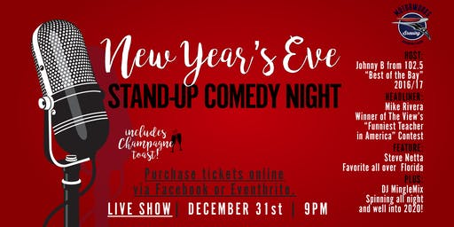 NYE Comedy Night at Motorworks Brewing!