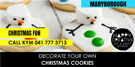 Christmas Cookies tickets