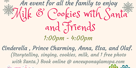 Milk & Cookies with Santa and Friends tickets
