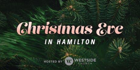 Christmas Eve in Hamilton tickets