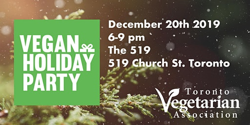 Vegan Holiday Party