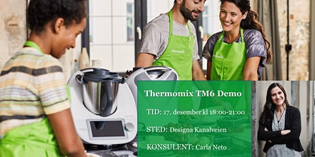 Thermomix TM6 demo - 17 Dec tickets