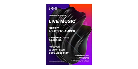 Young LA Showcase: Ashes to Amber + Guspy tickets