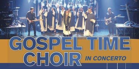 Gospel Time Choir in Concerto biglietti