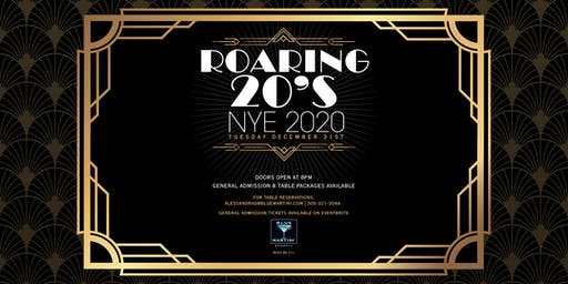 Blue Martini Kendall Roaring 20's New Year's Eve 2020
