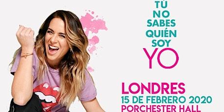 ERIKA DE LA VEGA - LONDRES tickets