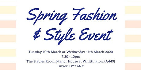 Spring Style & Fashion Event tickets