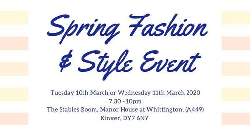 Spring Style & Fashion Event