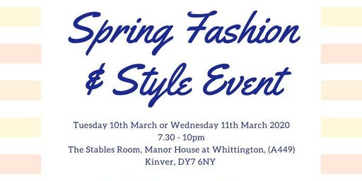 Spring Fashion & Style Event