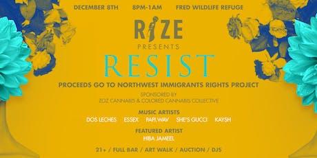 RESIST tickets