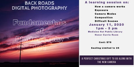 Fundamentals of Photography 101 tickets