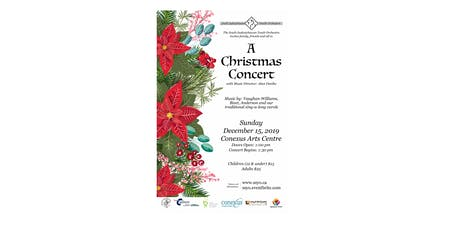 SSYO 2019 Christmas Concert tickets