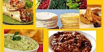 06/02 Culinária Mexicana, 19h às 22h30 - R$195,00