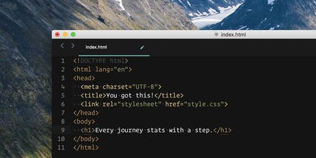 HTML & CSS: A Primer tickets