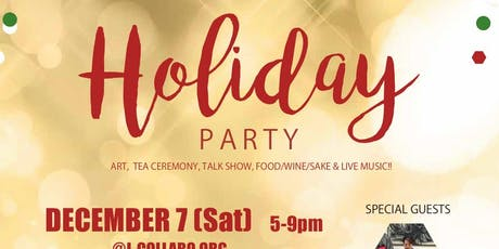 J-Collabo Holiday Party tickets