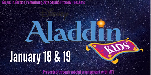 Aladdin EMERALD Cast Show 3    (Tickets sold Dec. 10 - Jan. 16)