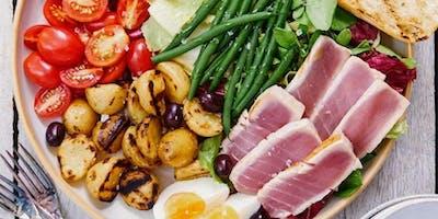 29/02 Sabores do Mundo: Saladas 9h as 12h R$ 180,00