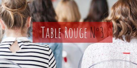 Table Rouge N°3 : SPM et crampes menstruelles billets