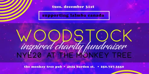Woodstock NYE Charity event2020