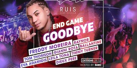 Zaterdag 28 december, Club Ruis Grand Closing ft. FREDDY MOREIRA tickets