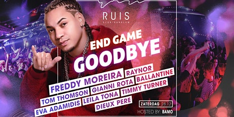Zaterdag 28 december, Club Ruis Grand Closing ft. FREDDY MOREIRA tickets