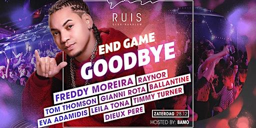 Zaterdag 28 december, Club Ruis Grand Closing ft. FREDDY MOREIRA
