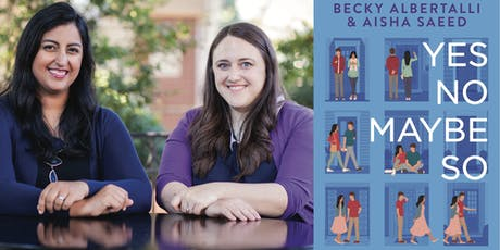 Becky Albertalli and Aisha Saeed Book Launch at DHS Performing Arts Center! tickets