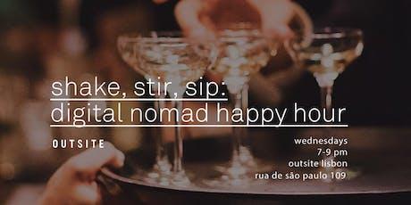 Shake, Stir, Sip: Digital Nomad Happy Hour tickets