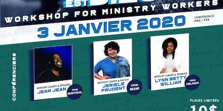 Workshop for ministry workers By MinistereLaSource&IamLynnBettyInc tickets