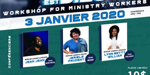 Workshop for ministry workers By MinistereLaSource&IamLynnBettyInc