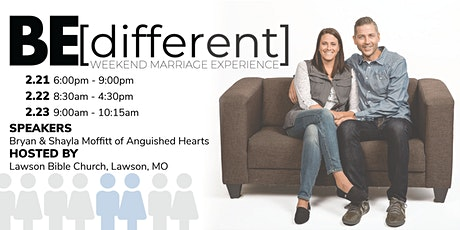 Anguished Hearts BE[different] Weekend Marriage Experience tickets