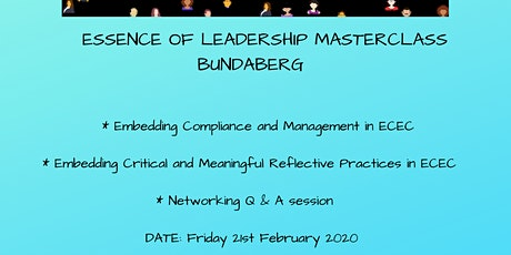 Essence of Leadership Masterclass Bundaberg tickets