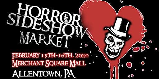 Horror Sideshow Market Tickets February 2020