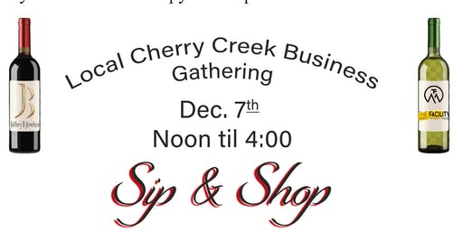 Sip and Shop with Local Businesses