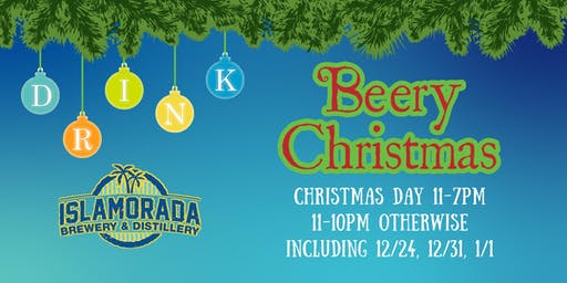 Beery Christmas Drinking at Islamorada Brewery & Distillery